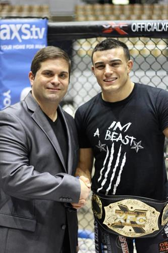 Covering the XFC with Nick Newell as the featured fighter.
