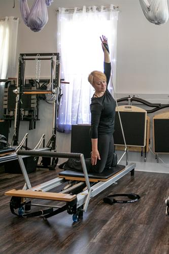 Core work on the Merrithew® SPX Reformer