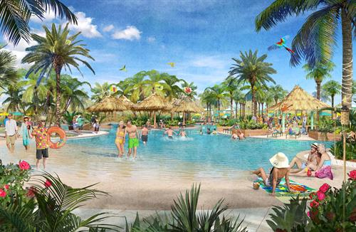 Latitude Town Center Paradise Pool Rendering