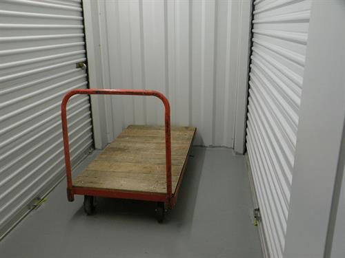 Flatbed Handcarts Available Throughout Site