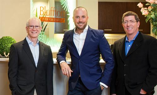 Our Dentists: Dr. Alvin Danenberg, Dr. Richard Porcelli and Dr. Jay Friedman