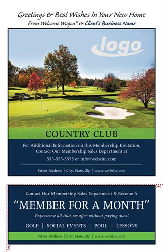 Do you need more members for your Country Club?  This could be your ad in our Gift Book.