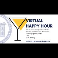 Virtual Happy Hour: Mixology Meetup (Apr 23)