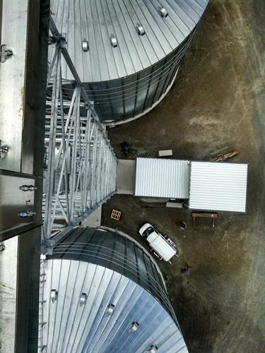 Grelton Elevator-unload building