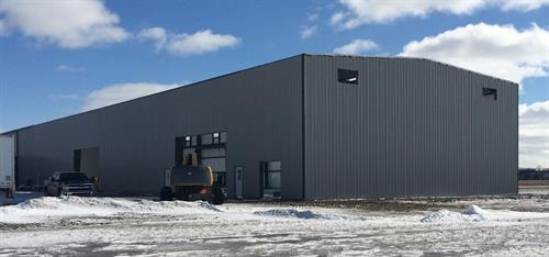 Custom Agri Systems-crane building addition