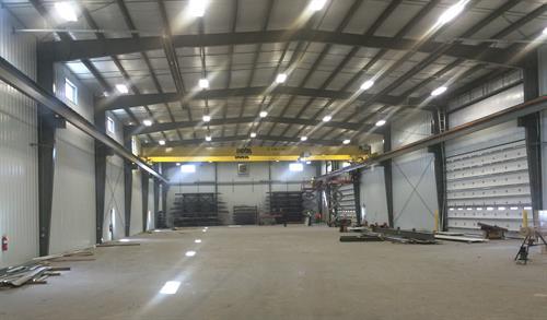 Custom Agri Sytems-crane building addition