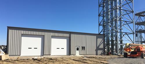 Gerald Grain Center-unload building