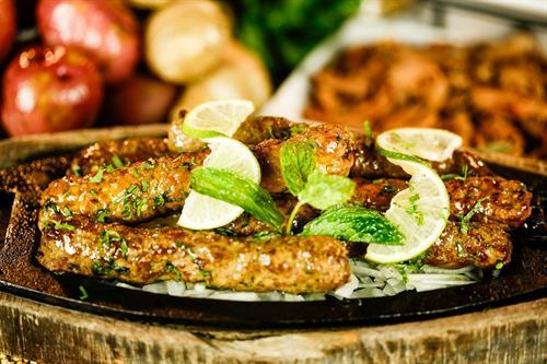 Seekh Kabab Lamb or Chicken