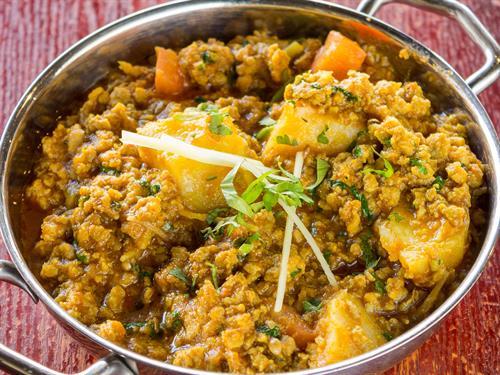 Aloo Keema (Potato & Ground Meat)