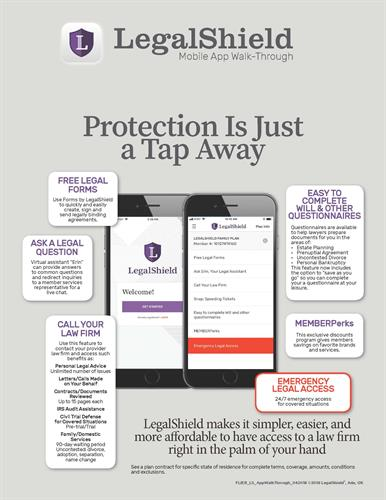 LAW FIRM AT PALM OF YOUR HAND THRU APP