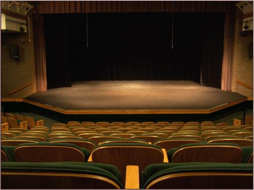 Stage from audience