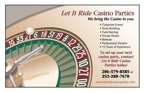 Let It Ride Casinos magazine ad
