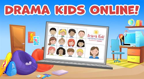 Interactive, and we mean ACTIVE, fast-paced online classes keep your drama kid safely learning and making friends!