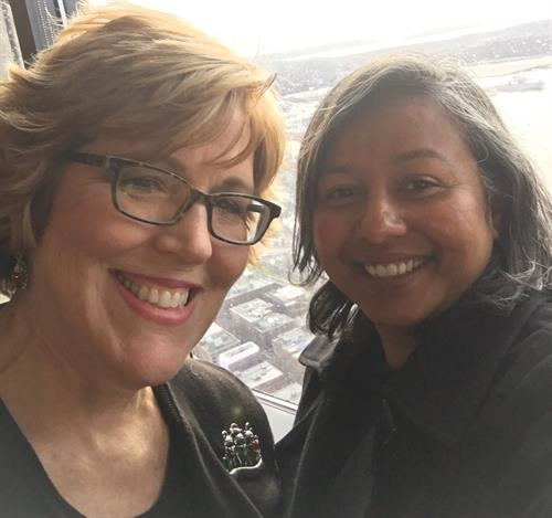 Sponsoring Silicon Valley CEO Sanchita Sur at Columbia Tower Club