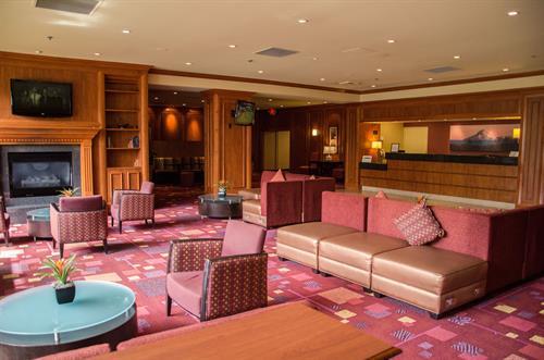 Welcoming Hotel Lobby
