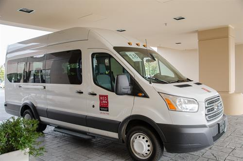 24-Hour Complimentary Hotel Shuttle