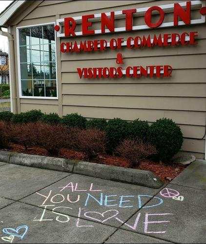All You Need Is Love <3 Only market of 2020 at Renton Chamber