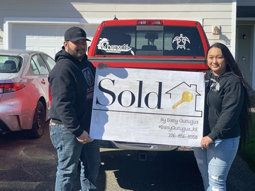 My clients excited about their first home purchase! Congratulations!