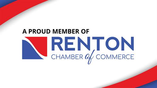 Proud to be a member of the Renton Chamber of Commerce