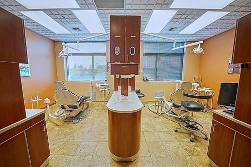 Procedure rooms