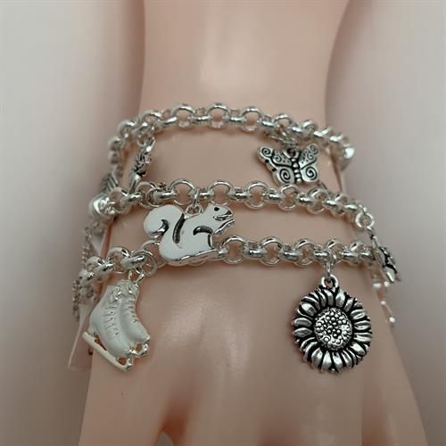 Charms bracelet collection