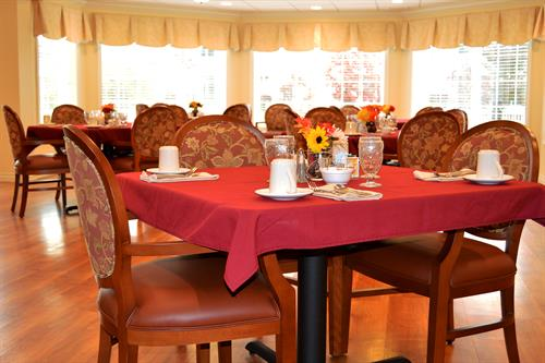 Shurmer Place Dining Room