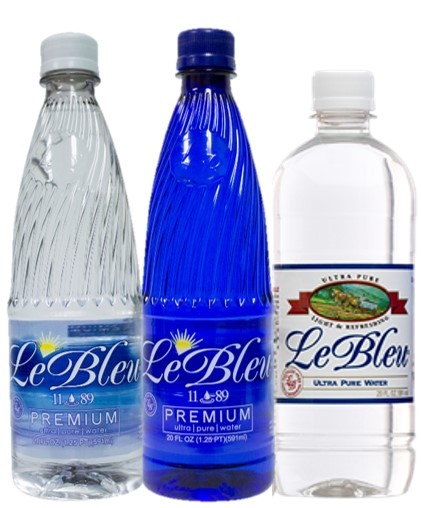 Image for Healthy Living Vending now offering Le Bleu Water
