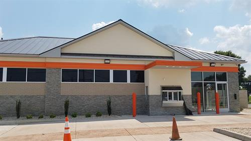 Metal Roof Installation - Little Caesars Pizza