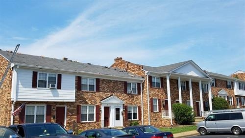 Shingle Roof Installation at Apartment Complex