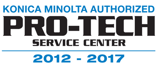 We are a longstanding winner of the Konica Minolta Pro-Tech award for our award-winning service department.