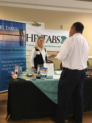 HR-TABS at the 2017 Meet the Pros Exhibit
