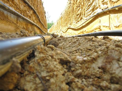 Trench Image - 5 feet down