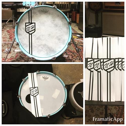 Custom Drum Decals