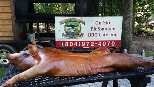 Whole Hog BBQ and Pig Pickin with Piedmont Smokehouse BBQ