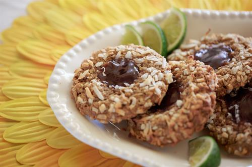 Tropical Guava Birdsnest Cookie