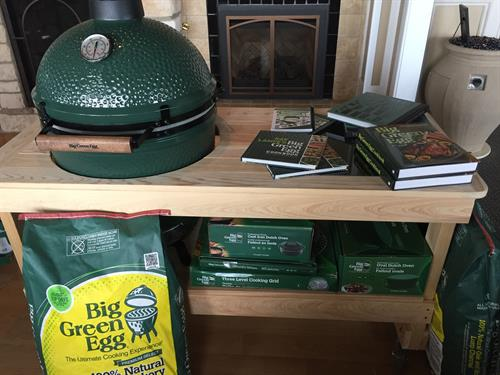 Anderson Propane is an authorized Big Green Egg Dealer