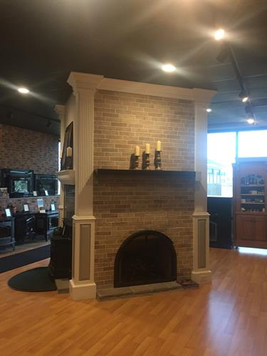Anderson Propane has a wide selection of live burning Fireplaces and Inserts