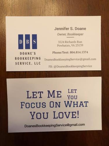 Our New Business Cards