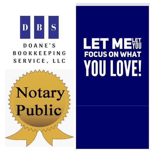 We also offer Notary Services!
