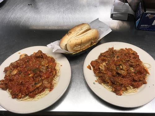 Chicken Cacciatore for 2
