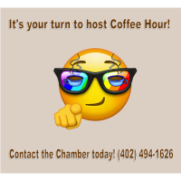 You could be the Next Host for Coffee Hour!!