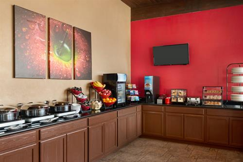 Complimentary Breakfast Buffet for Hotel Guests