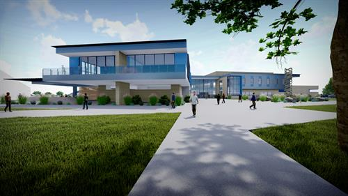 Columbia Basin College Student Recreation Center (pre-design concept)