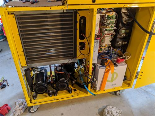 Custom DC voltage refrigeration system