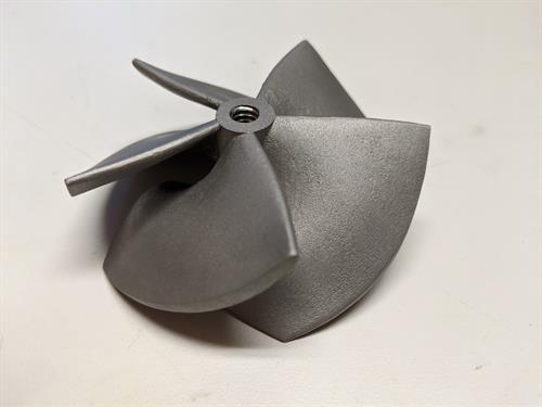 DMLS 3D printed Axial turbine