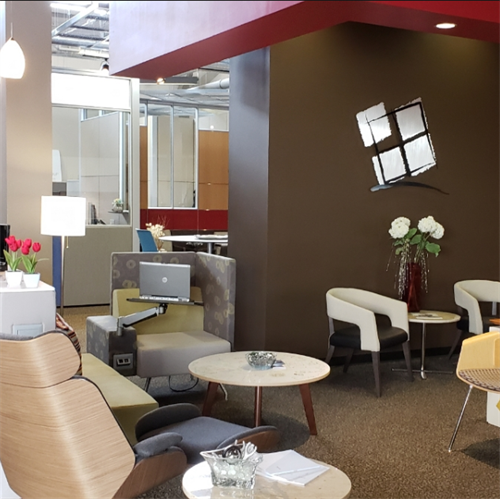 Largest commercial office furniture showroom in Spokane