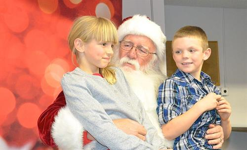 Bank of Colorado Sponsorship of Letters from Santa 2015.
