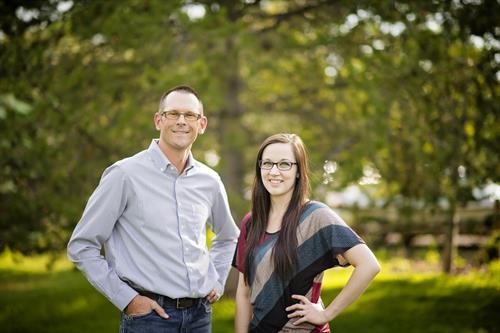 Dr. Craig Eckroth & Dr. Natalie Hansen