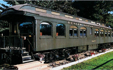 The Craig Chamber provides tours of the historic Marcia Car, a pristine Pullman private car built in 1906.