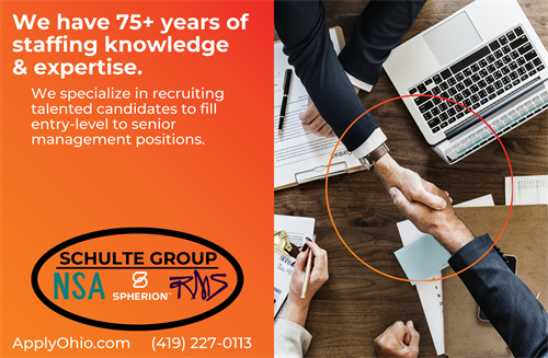 We are The Schulte Group. With 75+ years of experience under our belt, we have the knowledge and experience to help you!